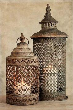 2 Lanterns I Canvas Print by Tom Quartermaine   iCanvas