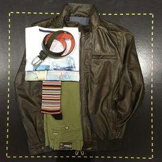 Foto 7 #outfits4men : lederen jas (Stones), broek (Zilton), T-shirts (Terre-Bleue), riem (State of Art), sokken (Jollysox). #menswear