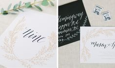 oh the sweet things | calligraphy & illustration