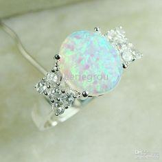 Bijoux opale opale anneau, naturelles pierres- pierre précieuse bague, 30pcs/lot, livraison gratuite