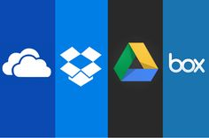 #OneDrive, #Dropbox, #GoogleDrive and #Box: Which cloud storage service is right for you? #cloud #cloudcomputing