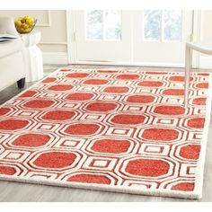 Shop for Safavieh Handmade Precious Rose Polyester/ Wool Rug (8' x 10'). Get free shipping at Overstock.com - Your Online Home Decor Outlet Store! Get 5% in rewards with Club O! - 15699471