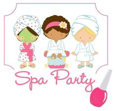 Spa Party Girls by Spa Party Sisters Kids Spa Party, Spa Birthday Parties, Pamper Party, Teen Parties, Teen Birthday, Diva Party, Mini Spa, Party Makeup, Spa Day