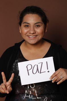 Peace, Alejandra Báez, Estudiante, Monterrey, México.