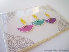 Home - Luxury Asian Wedding Stationery Supplier in UK Diy Diwali Gifts, Corporate Diwali Gifts, Diwali Cards, Handmade Birthday Cards, Handmade Cards, Diwali Decorations, Happy Diwali, Festival Lights, Diy Cards