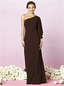 After Six Style 6637 #brown #bridesmaid #dress