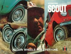 """International Scout """"Action Wheels for Everyone"""", via Flickr."""