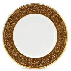 Noritake White Palace Accent Plate, 9-inches by Noritake. $49.96
