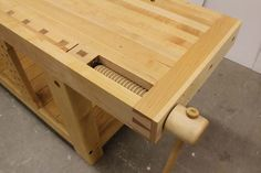 Announcing our February 2016 Workbench Idea Woodworking Workbench, Woodworking Projects, Carpenter Work, Lake Erie, February 2016, Workbenches, Traditional, Wood Vise, Umea