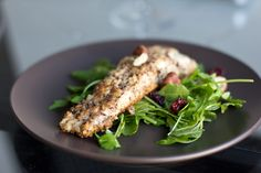 Hazelnut Crust Steelhead Trout Recipe