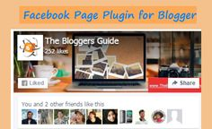 Add Facebook Page Plugin In Blogger | The Blogger Guide