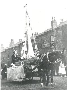 War Fund Procession for the Boer War Colonial, Stockport Uk, Armed Conflict, The Settlers, Image Archive, Old London, My Land, Military History, Quebec
