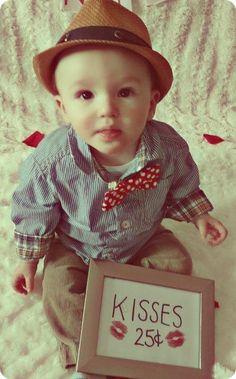 Valentines baby photo-shoot idea
