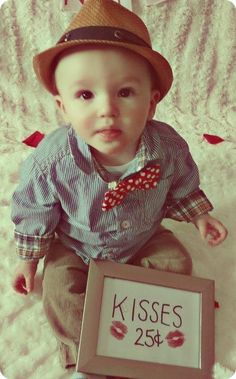 Valentines baby photo-shoot idea