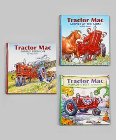 Another great find on #zulily! Tractor Mac Arrives at the Farm Hardcover Set by Tractor Mac #zulilyfinds