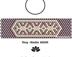 peyote ring patternPDF-Download 117R beading pattern