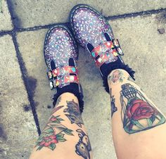 The Floral 8065 Mary Jane shoe, shared by ohdeerdolly.