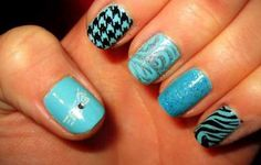 Your Something Blue: 8 Nail Art Options For Brides   | StyleCaster