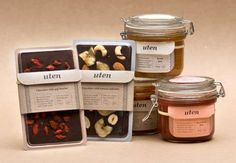 Humble Health Food Branding - Uten's Simple Packages Emanate a Cute and Delectable Charm (GALLERY)