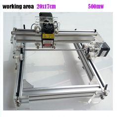 GRBL 500mW Desktop DIY kit blue purple Laser Engraving Machine Picture CNC Printer, working area 20cmx17cm #Affiliate