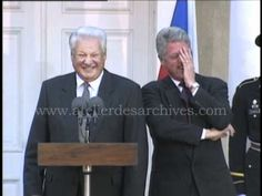 Boris Yeltsin Makes A Joke And Bill Clinton Cracks Up:  Hilarious!