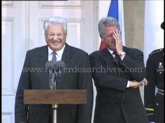 Fou rire Clinton Eltsine the big laugh