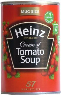 Cream Of Tomato Soup Heinz Retro Recipes, Vintage Recipes, Cream Of Tomato Soup, 1970s Childhood, Retro Food, Irish Recipes, Food And Drink, British, Memories