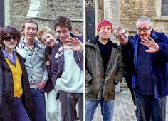 Así lucen estas personas cuando recrean la misma foto 40 años después
