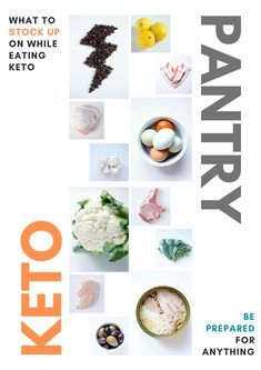 This Essential Keto Pantry Guide what you should keep on hand in regular times while eating keto. This Essential Keto Pantry Guide what you should keep on hand in regular times while eating keto. Caribbean Chicken, Gluten Free Lasagna, Blueberry Cookies, Bacon Sausage, Pantry Essentials, Lara Bars, Canned Coconut Milk, Unsweetened Cocoa, Low Carb Recipes