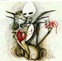 Everyone says that tim burton is wierd and stuff and different! but thats why i like him!! i like wierd artist that draw and make cool stuff and tim burton is my number one artist!! (:<<<THANK YOU!!!! And I want this as a tattoo