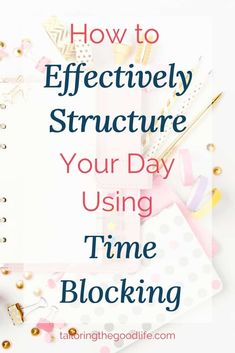 Time Blocking is a great way to structure your day. Here you can read the great benefits and how to get started with Time Blocking. How To Make Notes, How To Get, How To Plan, Daily Routine Schedule, Daily Routines, How To Focus Better, Do What You Want, Planning Your Day, Part Time Jobs