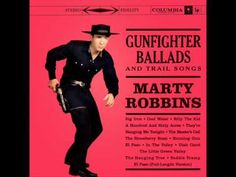 My youngest son was singing this the other day....made me giggle. Big Iron- Marty Robbins