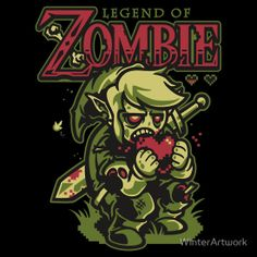 """Legend of Zombie"" T-Shirts & Hoodies by WinterArtwork 