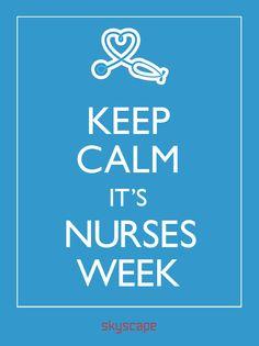 Skyscape Celebrates Nurses - National Nurses Week! Nurses Day Quotes, Funny Nurse Quotes, Nurse Humor, Happy Nurses Day, Nurses Week Gifts, Nursing Memes, Nursing Scrubs, Nursing Pins, Messages