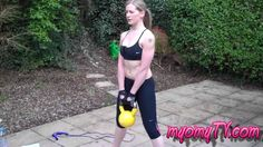 Fitness - Strip the Fat - 16kg Kettlebell!