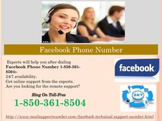 What is the benefit of dialing Facebook Phone Number 1-850-361-8504? The working style of our tech professionals is totally different from others as we first try to analyze your problem from the root and after that we give you a desired solution for your problems. So, make a call on our Facebook Phone Number 1-850-361-8504 and stay united with us. We shall never let you down in your hard times. For more information. http://www.mailsupportnumber.com/facebook-technical-support-number.html…