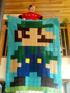 """As Remy and Shay say, """"L'il Igi"""" made from granny squares...pretty straight forward, I could do this one!!!"""