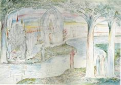 90-Beatrice sul carro, Matelda e Dante