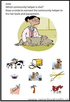 [caption align=alignnone free printable community helpers worksheets for kids[/caption] Community Helpers Printable Worksheets for Kids Here you can find community helpers worksheets for children and preschoolers. This section has a lot . Community Helpers Crafts, Community Helpers Worksheets, Kindergarten Worksheets, First Grade Teachers, Kindergarten Teachers, Printable Worksheets, Free Printables, Social Stories, Primary School