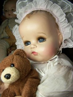 COMPOSITION CLOTH DOLL IDEAL BABY BEAUTIFUL ANTIQUE DOLL OLD COMPO COMPOSITE