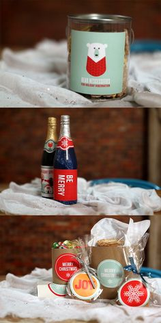 Last Minute Gift Ideas --> http://blog.hgtv.com/design/2012/12/18/weekday-crafternoon-last-minute-diy-gifts?soc=pinterest
