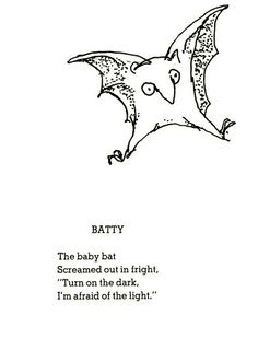 shel silverstein bat tattoo