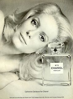 Classic Chanel Ad from the 1970's