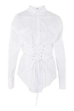 Iza Corset Shirt by Storets