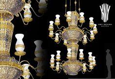 Swarovski, Crystal Chandelier Lighting, Decorative Lighting, Led, Brass Metal, Light Decorations, Luster, Vases, Glass Vase