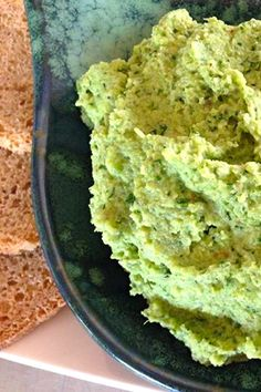 Cauliflower and Spinach Hummus - A full on vegie hummus. Good for you and a great way to get the kids feasting on them. Easy. Thanks Gina.