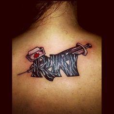 Nurse tattoo by Audrey Mello