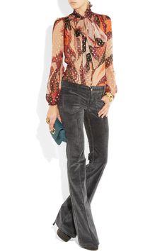 Details about Women Corduroy Brown Cords Skinny Pants Classic Bib ...