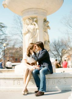 Dupont Circle Engagement Session