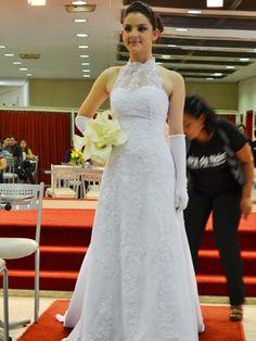 Da coleção de vestidos de noivas da Feira da Noiva - jul/2012